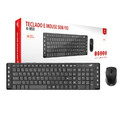 TECLADO E MOUSE WIRELESS C3TECH K-W50 PRETO