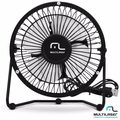 VENTILADOR USB MULTILASER MINI FAN PRETO AC167