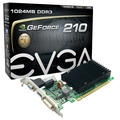VGA PCI-E EVGA GT MAINSTREAM G210 1GB DDR3 (64BITS)